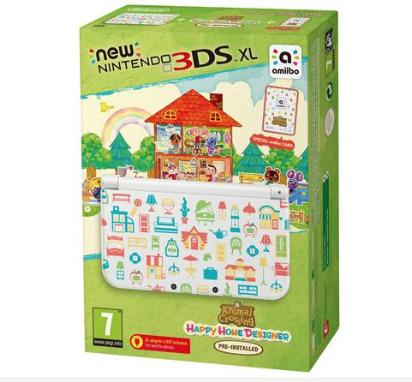 Nintendo 3DSXL Console & Animal Crossing Happy Home Designer £119.99 @ Argos