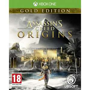 Assassin's Creed Origins Gold Edition Xbox One Game for £21.99 Delivered @ 365games