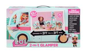 LOL Surprise 2-in-1 Glamper Fashion Camper with 55 Surprises £50 Tesco instore