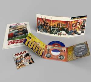 Once Upon a Time In... Hollywood - First Edition #1 4K+Bluray+Vinyl+turntable adapter+poster+Mad magazine £49.99 HMV Exclusive