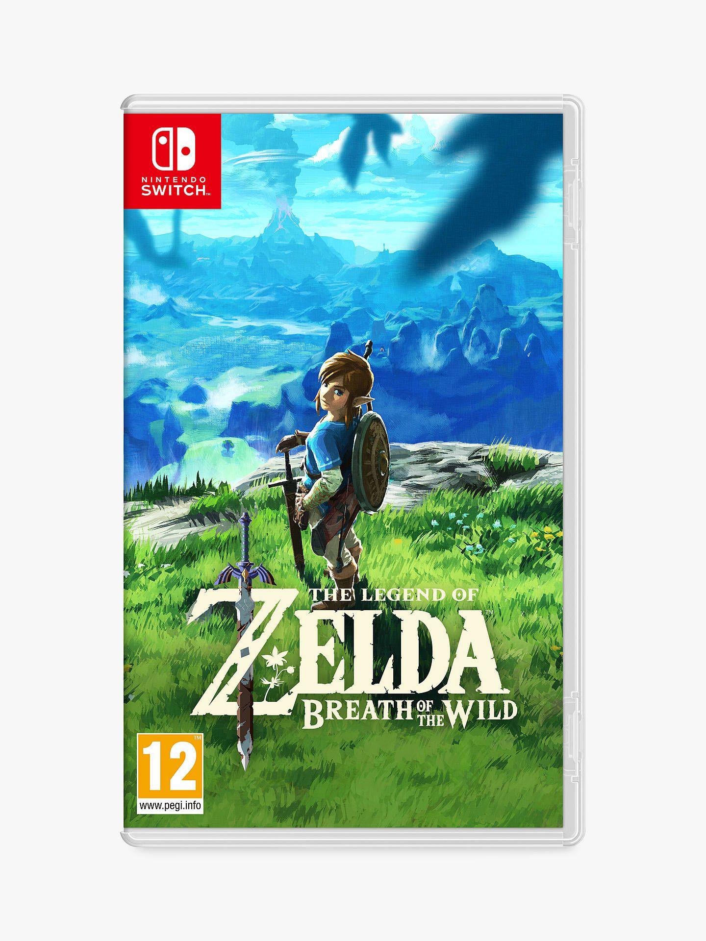 The Legend of Zelda: Breath of the Wild (Nintendo Switch) £44 @ Amazon