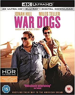 War dogs 4k uhd blu ray incudes digital download £9.99 @ Amazon prime (£2.99 p&p non prime)