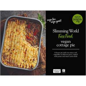 Free Muller 6 Pack Yogurts when you buy any 3 Slimming World meals or meats - from £3 each
