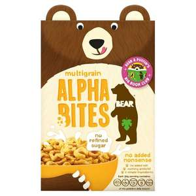 Bear multigrain Alpha bites 30g 8 for £1.00 Heron Foods
