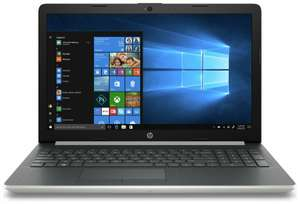 """HP 15-DS0057NA 15.6"""" Inch Full HD Intel Core i7-7500, 4GB+16GB Optane, 2TB HDD Laptop - Silver for £379.99 delivered @ Argos eBay"""