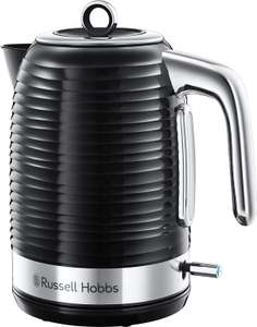 Russell Hobbs 24361 Inspire Electric Kettle, 3000 W, 1.7 Litre, Black with Chrome Accents £26.66 Amazon
