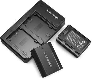 NP-FZ100 Battery 2 Pack Camera Batteries and USB Charger Set for Sony £24.99 Sold by Sunvalleytek-UK and Fulfilled by Amazon