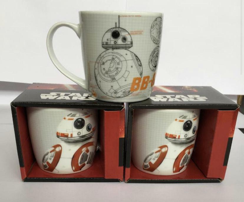 3 of Pack of Star Wars BB8 Mugs £8.98 delivered @ Licensed bargains