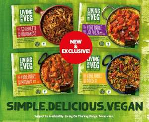 Vegan ready meals from £1.50 each @ Herons