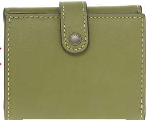 COACH Ladies Green Trifold Wallet £36 plus £1.99 click & Collect @ Tkmaxx RRP £195