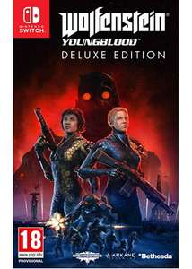 Wolfenstein: Youngblood Deluxe Edition - Code in Box - Nintendo Switch - Base.com £12.85