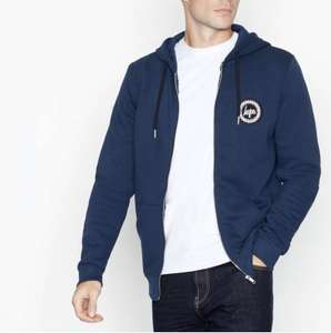 Men's Hype - Navy Logo Badge Hoodie £12.00 delivered with Code Next Day at Debenhams
