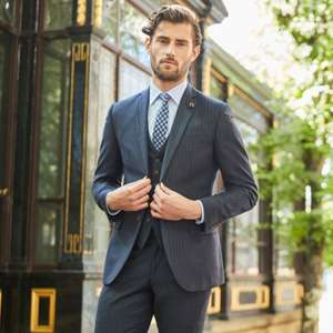 Up to 60% off Sale + extra 10% Off with code @ Suit Direct - 2 Piece Suits from £45