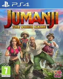 Jumanji The video game PS4 £29.99 Smyths Toys