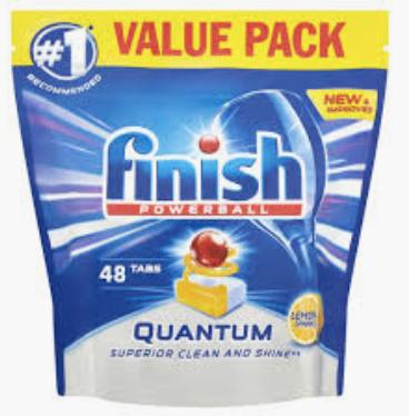 Finish Powerball Quantum - 48 Dishwasher Tabs £4 @ co-op Essex