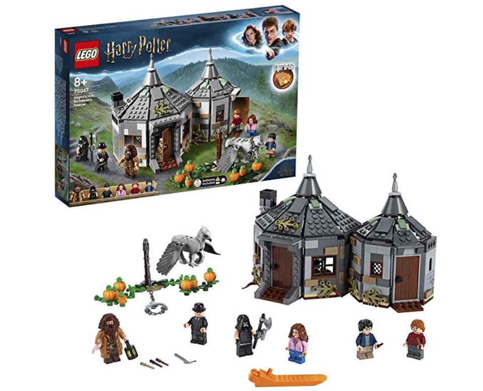 LEGO 75947 Harry Potter Hagrid's Hut: Buckbeak's Rescue £37 @ Amazon