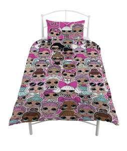 Save 25% on this LOL Surprise Bedding Set - Single £11.25 with Free Click and collect @ Argos