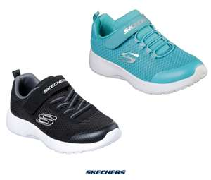 Skechers Slip on Children's Shoes Sizes 1-13 (Black or Light Blue) for £16.99 delivered @ Costco