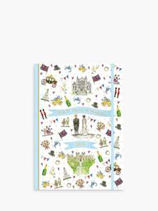 Clear out - Harry and Meghan Sale @ John Lewis & Partners: Royal Wedding (Sussex) Notebook reduced from £12 to £3.30 + £2 C&C