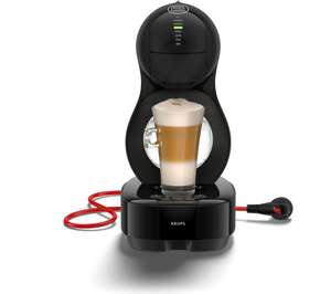 DOLCE GUSTO by Krups Lumio KP130840 Coffee Machine - Black (Collect in store only) - £39 @ Currys PC World