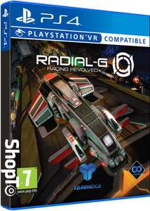 Radial G PS4 now £7.85 delivered at Shopto