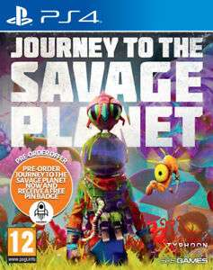 Journey To The Savage Planet & FREE Pin Badge (PS4) PRE-ORDER now £21.55 delivered with code at The Game Collection eBay