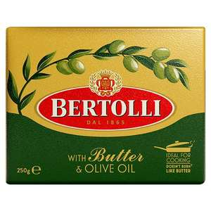 2 x 250g Bertolli With Butter & Olive Oil £1 @ Heron Foods