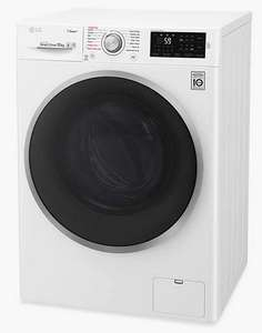 LG Steam F4J610WS 10kg 1400rpm Washing Machine with 5 Year Warranty £399 @ John Lewis & Partners