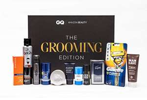 Amazon Beauty x GQ Presents: The Grooming Edition (Incl digital GQ subscription) £14.68 prime / £19.17 non prime @ Amazon