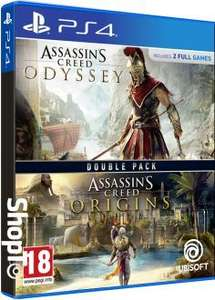 Assassins Creed Origins + Odyssey Double Pack (PS4 /XBox One) £29.85 Delivered @ ShopTo