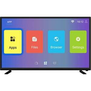 ElectriQ 43 Inch 4K Ultra HD HDR LED Android Smart TV with Freeview HD £219.95 + free delivery / @ Laptops Direct