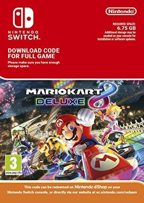 Mario Kart 8 Deluxe (Digital Download Code - Instant Delivery) £36.99 @ CDKeys