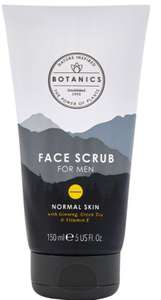 Botanics For Men Face Scrub 150ml £3.59 and 275 Boots points at Boots Shop