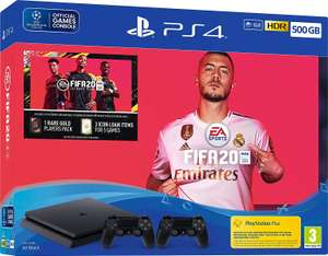 Fifa 20 500GB PS4 Bundle with Second DualShock 4 Controller (PS4) £263 @ Go2Games on Amazon