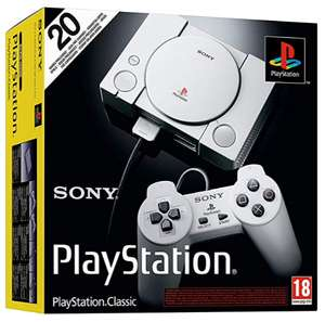 Sony PlayStation Classic Console £36.67 Sold by EVERGAME and Fulfilled by Amazon