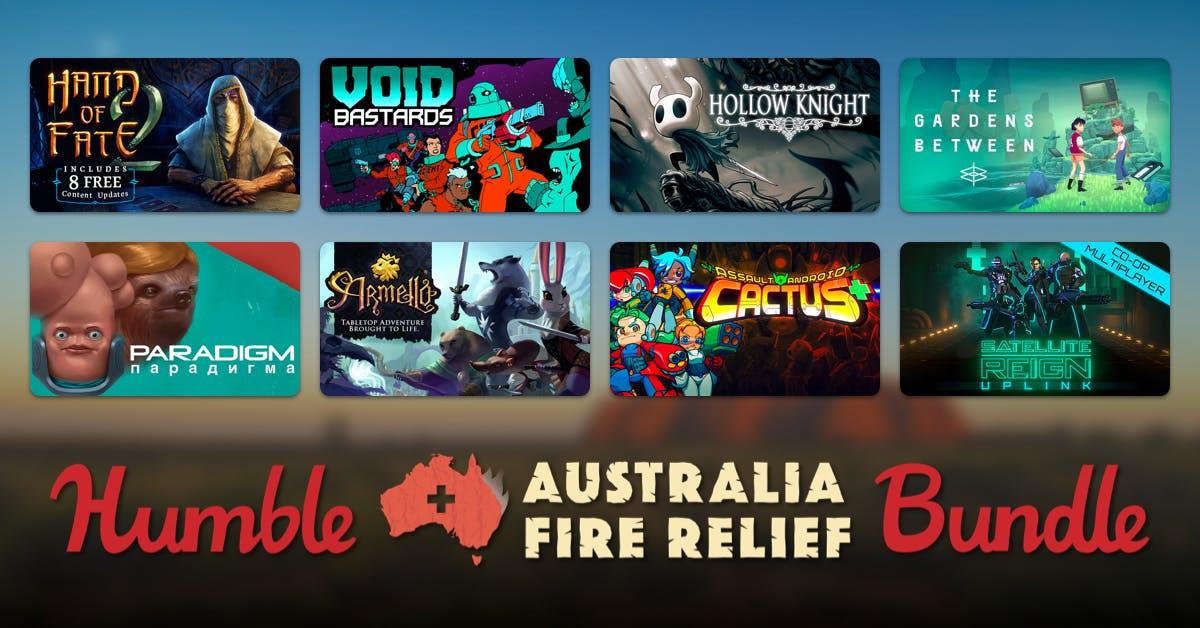 Humble Bundle, Australia Fire Relief PC Game Bundle £19.13 @ Humble Bundle