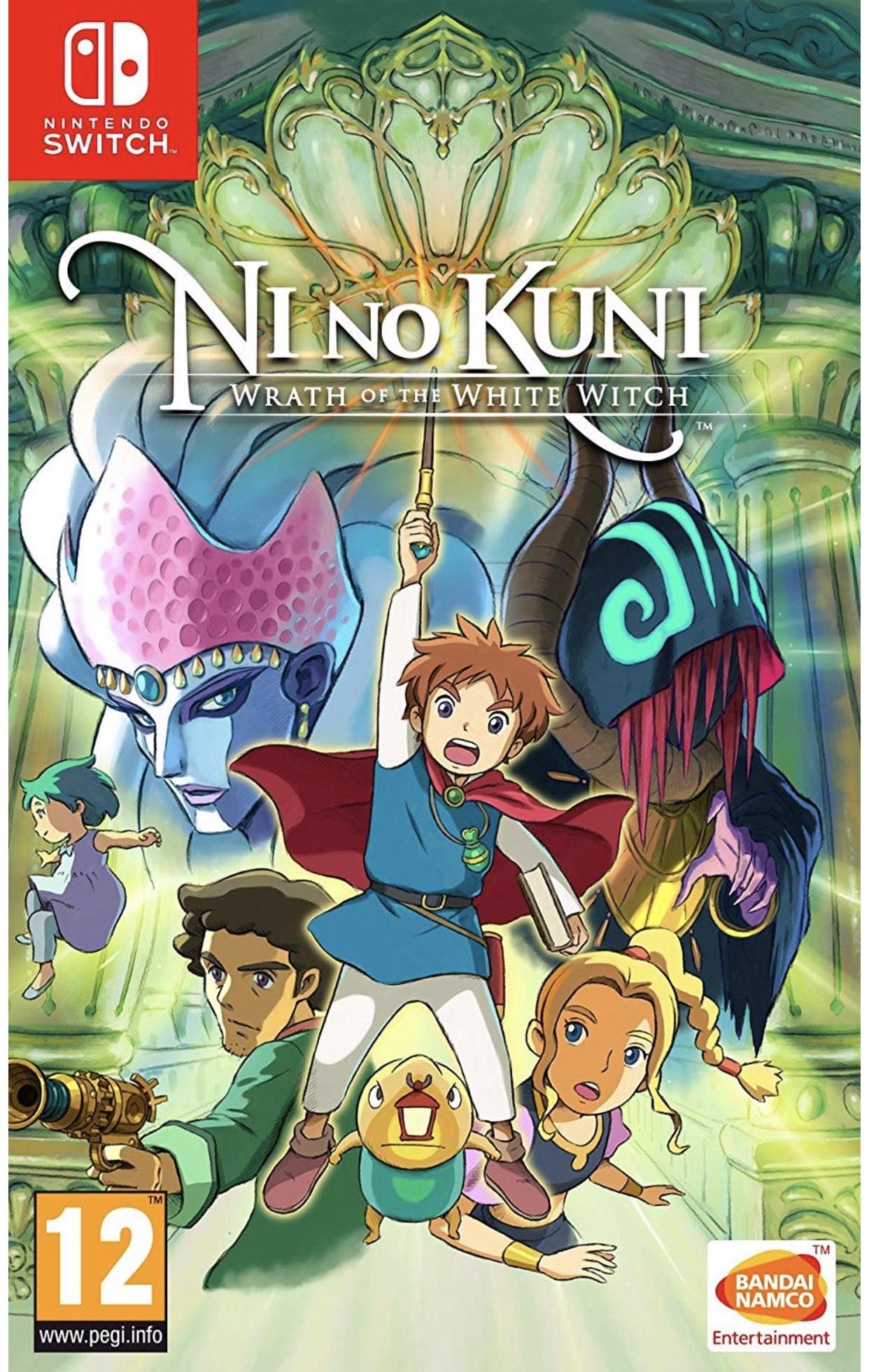 Ni No Kuni: Wrath Of The White Witch (Nintendo Switch) £29 @ Nintendo Sweden eshop