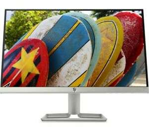 "HP 22fw Full HD 21.5"" IPS LCD Monitor White £64.79 from currys clearance / ebay"