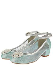 Princess Snowflake Faux Pearl Diamante Party Shoes Sizes 7,12,13,1,2,3, Now £10 + Free Click & Collect @ Monsoon