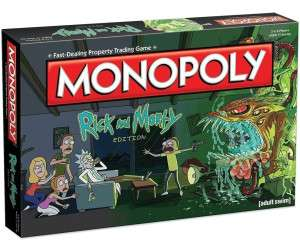 Rick and Morty Monopoly Board Game £14.99 (C+C) £18.49 (Delivered) @ Ryman