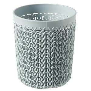 Dunelm - Curver Knitted Pattern - White/Blue A6 Tray - White/Blue Storage Pot - (more reductions in link below) - £1.60 + Free C&C