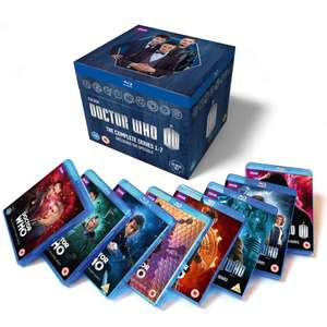 Doctor Who: The Complete Box Set - Series 1-7 [Blu-ray] £119 @ Zavvi