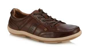 Hush Puppies - Tan Leather 'Vizla' Trainers - Size 8 and 10 only available £24 at Debenhams. Free next day delivery code SH4Q