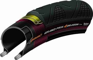 Continental Unisex Adult's Grand Prix 4 Season Tyre £34.99 & Free Delivery @ Amazon