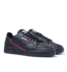 Adidas Continental 80 Trainers in black - Sizes 7 - 12 @ BBClothing