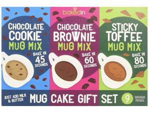 BakedIn Mug Mix 3 Boxes for £2.99 Delivered @ Vodafone VeryMe