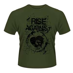 Various Metal Band Clothing S-XXL from £5.96 eg Rise Against @ Plastic Head