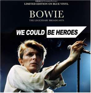 Bowie - We Could Be Heroes: Limited Edition on Blue [VINYL] £8.99 + £2.99 NP @ Amazon