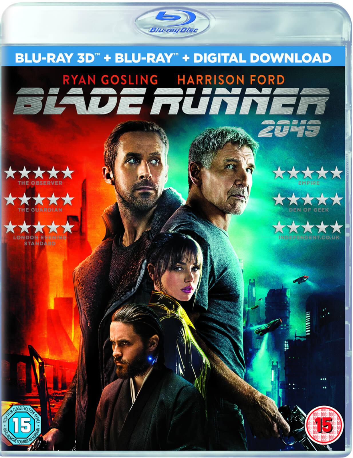 Blade Runner 2049 - Blu-ray 3D + Blu-ray + Digital Download £3.99 HMV instore (Westfield)