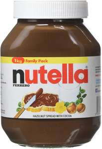 Nutella Hazelnut Chocolate Spread, 1 kg now £4 at Amazon Pantry - £3.99 delivery (£15 minimum spend)